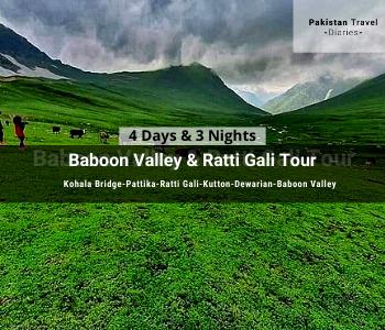 Neelum Valley tour - Baboon Valley - Ratti Galli Tour