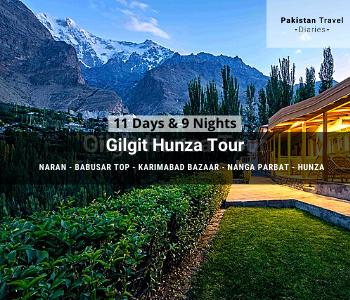 11 days Gilgit Hunza Tour